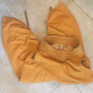 Free People Movement Yellow Gold Sweat Pants